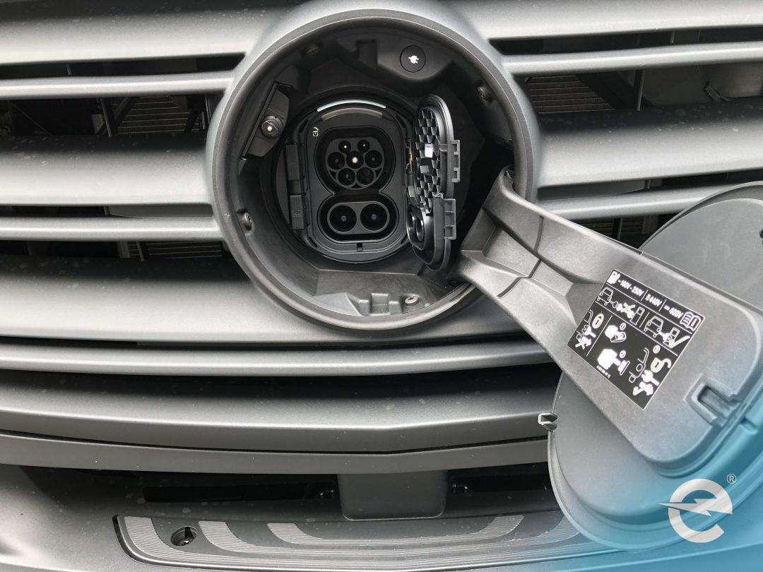 Der Elektrotransporter eSprinter von Daimler kommt an