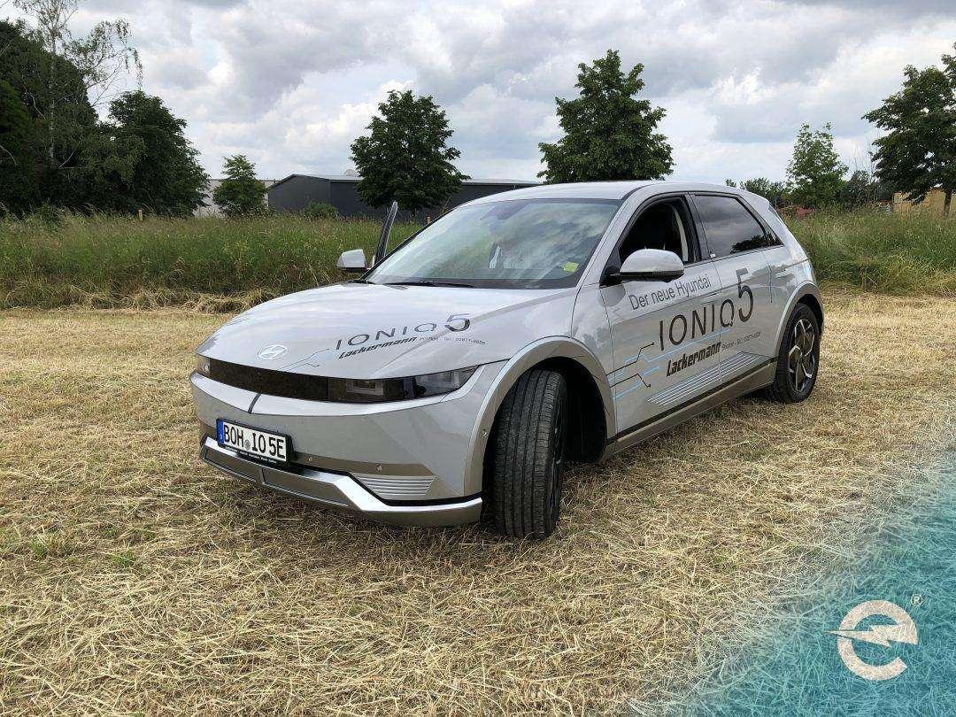 Probefahrt mit dem neuen IONIQ5 von Hyundai