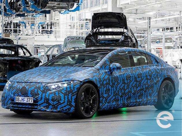 Elektroauto: Mercedes mit acht neuen Modellen bis 2022