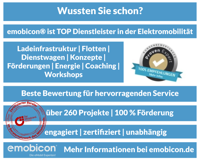Aktion ELEKTROTRANSPORTER von emobicon®