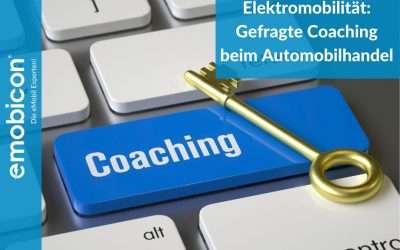 Elektromobilität: Gefragte Coachings beim Automobilhandel