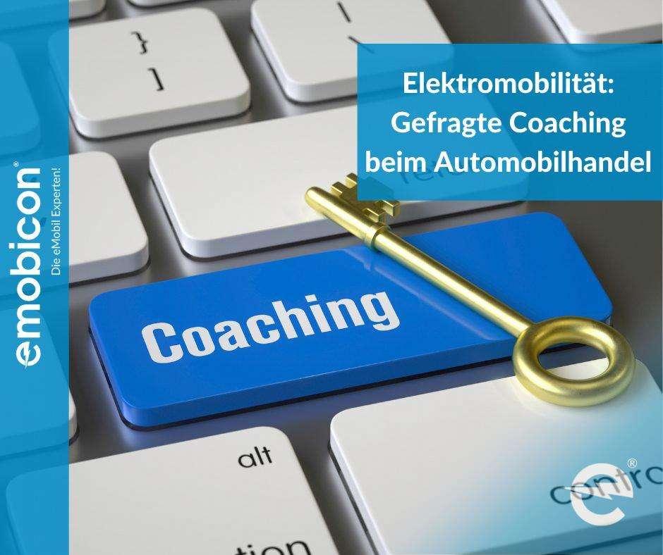 Elektromobilität: Gefragte Coaching beim Automobilhandel