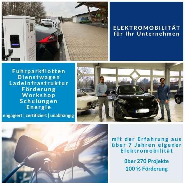 Elektromobilität für Unternehmen von emobicon