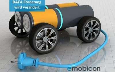 Elektroauto: Die BAFA Förderung  bekommt neue Bedingungen