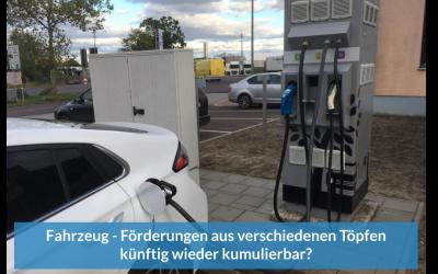 Förderung: Wird das Kumulierungsverbot für Elektrofahrzeuge gekippt?