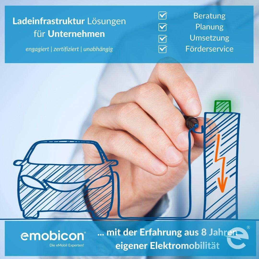 Ladeinfrastruktur Lösungen von emobicon
