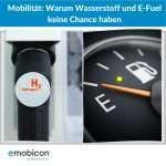 Mobilität: Warum Wasserstoff und E-Fuel keine Chance haben