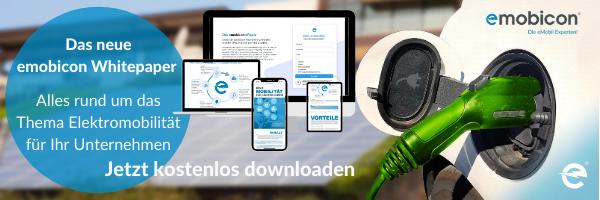 emobicon Whitepaper zur Elektromobilität in Unternehmen