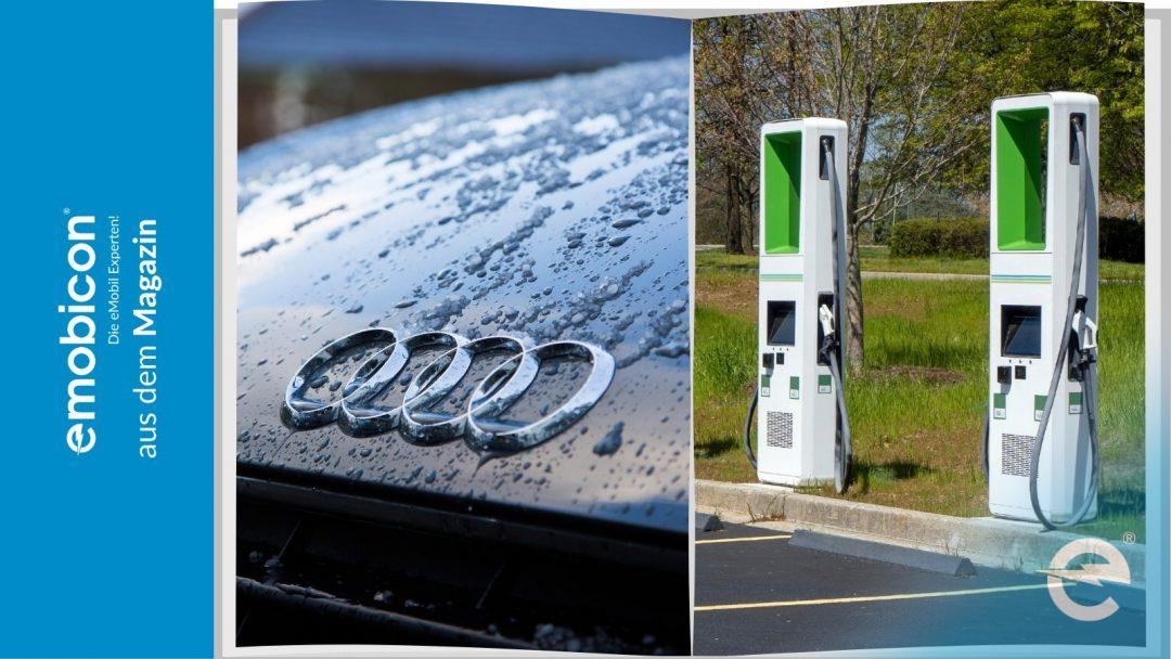 Audi: Mit trickreicher Darstellung Millionen Euro Förderung für Ladesäulen?